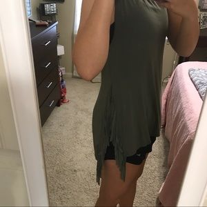 American Eagle Outfitters Tops - Army green tank